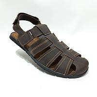 Мужские кожаные босоножки сандали  (Больших размеров) р. 46 отличного качества, фото 1