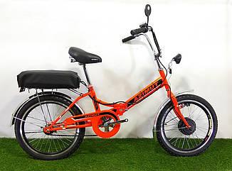 "Складаний електровелосипед Azimut 20"" 350W 36v (пробіг - 55)"