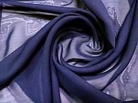 Тюлевой шифон фиолетового цвета, темный