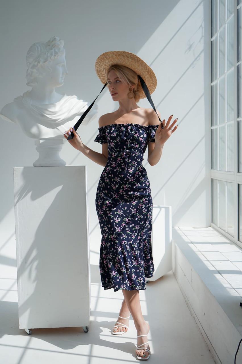 Платье Цветочки 05250