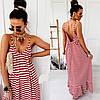Сукня жіноча з відкритою спиною