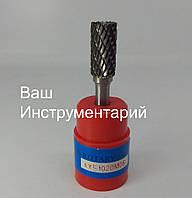 Борфреза по металлу (AEX) 10х20х6 цилиндрическая твердосплавная