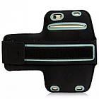 Cумка-чехол для бега на руку Jab универсальный до 5.5 дюймов Black HbP050620812, КОД: 1298460, фото 5
