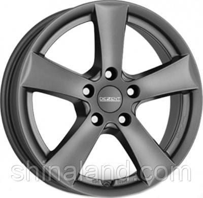 Литые диски Dezent TX graphite 5,5x15 4x100 ET40 dia60,1 (GR)