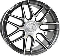 Литые диски Replica Mercedes-Benz MR762/1 10x22 5x130 ET50 dia84,1 (GMF)