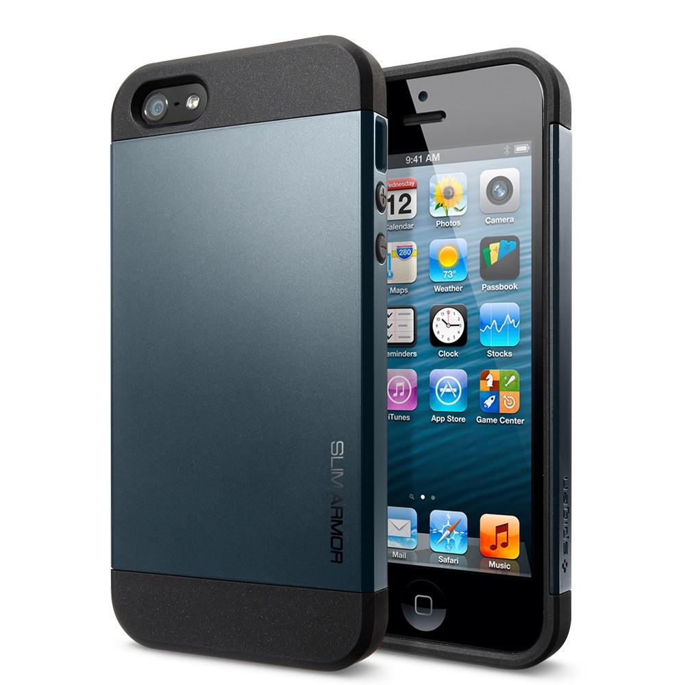 Чехол для iPhone 5 5S Spigen Slim Armor
