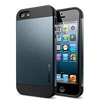 Чехол для iPhone 5 5S Spigen Slim Armor, фото 1