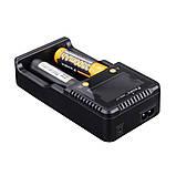 Зарядний пристрій Fenix 2*26650 18650 16340 14500 10440 АА ААА З, фото 5
