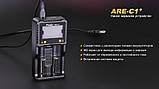 Зарядний пристрій Fenix 2*26650 18650 16340 14500 10440 АА ААА З, фото 8