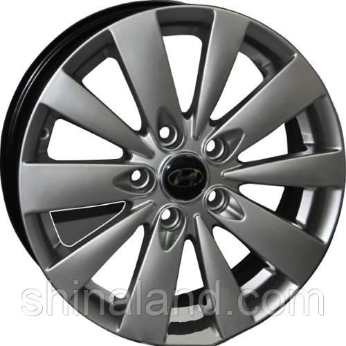 Литые диски Replica Hyundai HY105 6,5x17 5x114,3 ET45 dia67,1 (S)