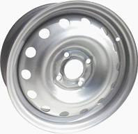 Стальные диски Дорожная карта Dacia Logan 5,5x14 4x100 ET43 dia60,1 (M)
