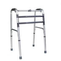 Ходунки шагающие  универсальные 10188 Dr.Life  складные медицинские алюминиевые для инвалидов, взрослых