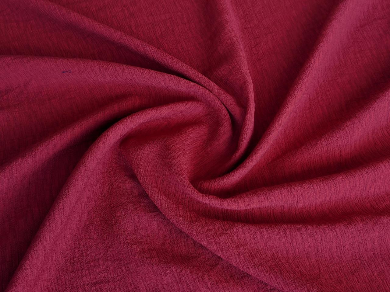 Ткань Киви креп, красный