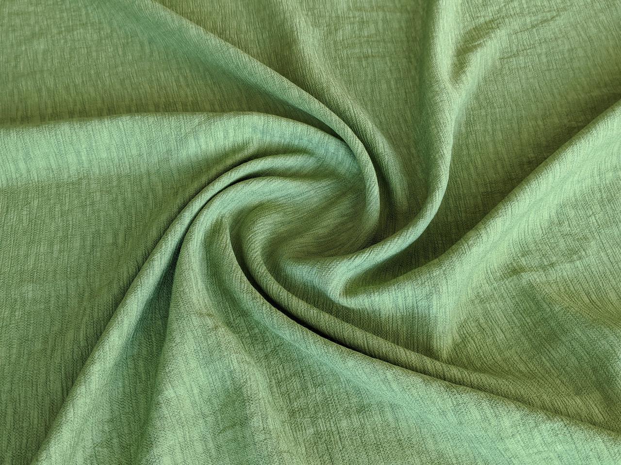 Ткань Киви креп, салатовый