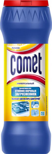 """Чистящий порошок Comet с хлоринолом """"Лимон"""" (475г.)"""