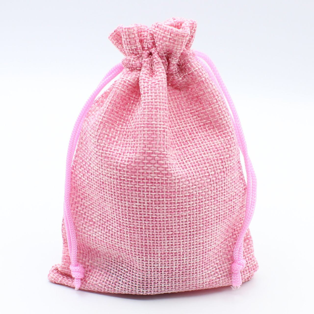 Розовый 110*140 мм лён