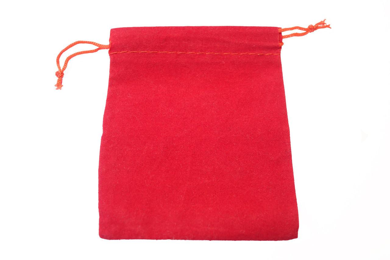 Мешочки красные флок
