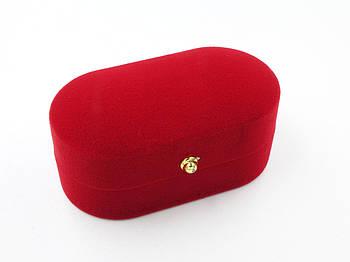 """Футляр под набор """"Овал"""" красный"""