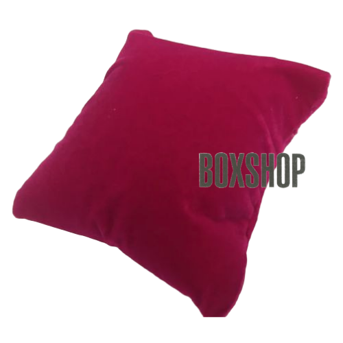 Подставка подушка малиновая