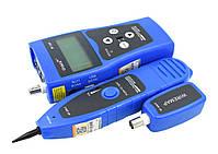 Noyafa NF308 (blue) многофункциональный кабельный тестер, трассоискатель, фото 7