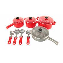 Набор посуды игрушечный  12 предметов ОРИОН 526