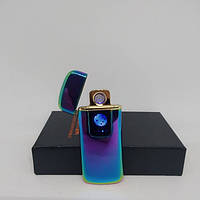 Спиральная сенсорная электрическая USB зажигалка Lighter 328