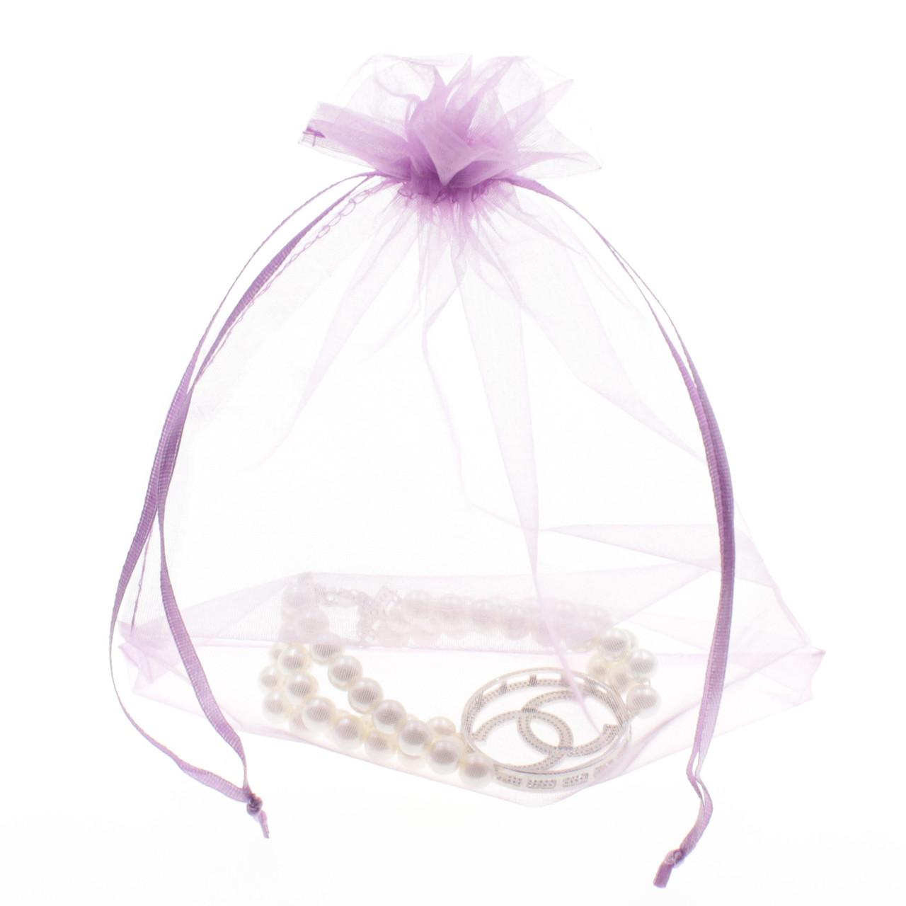 Фиолетовый 160*230 мм органза