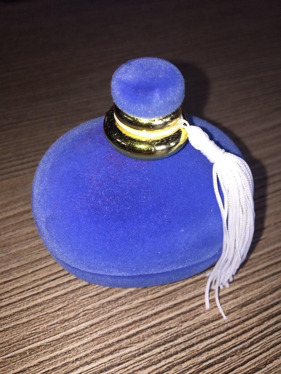 Флакон Овал голубой для кольца