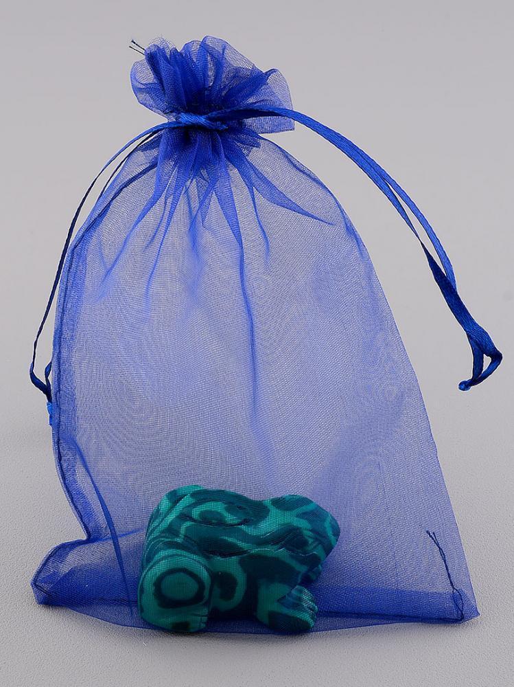 Синий 120*150 мм органза