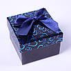 """""""Сердечки с бантом"""" подарочный бокс под кольцо box11, фото 4"""