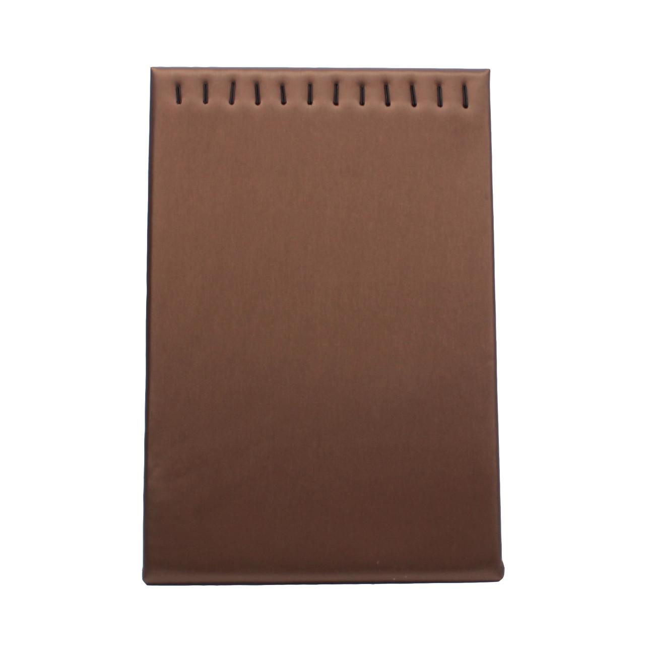 Подставка L для цепочек коричневая