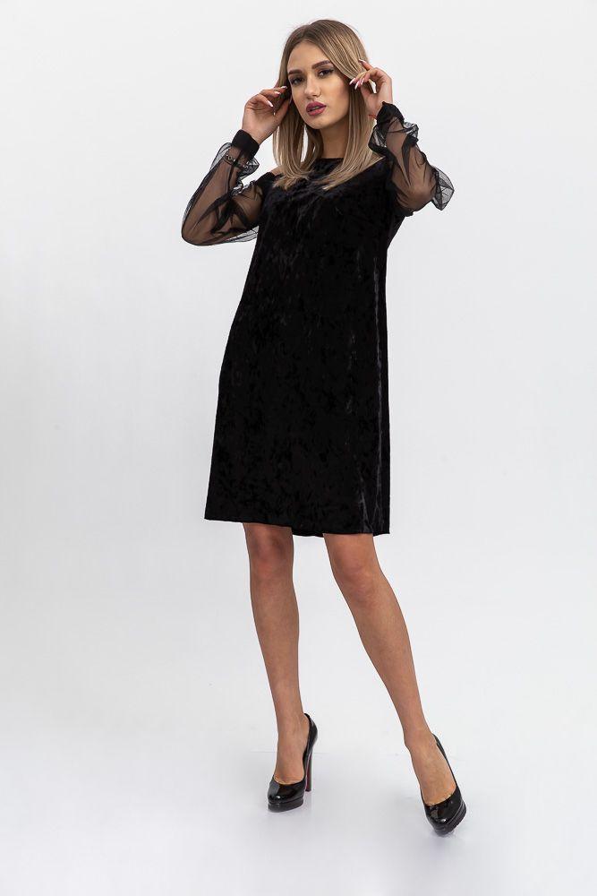 Платье женское 115R904 цвет Черный
