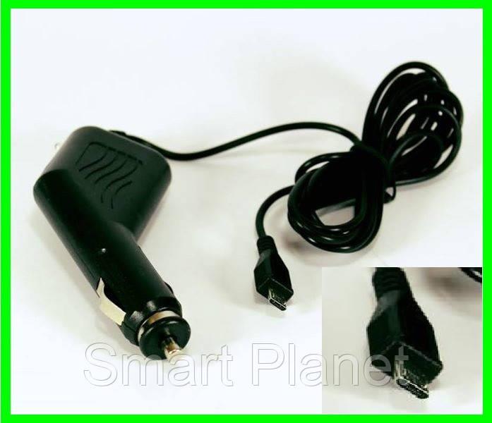 Зарядка - Блок Питания Для Видеорегистратора Адаптер Для Навигатора Телефона (MICRO)