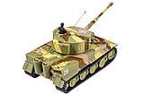 Танк микро р/у 1:72 Tiger со звуком (хаки коричневый), фото 3
