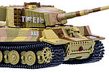 Танк микро р/у 1:72 Tiger со звуком (хаки коричневый), фото 4