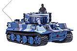 Танк микро р/у 1:72 Tiger со звуком (хаки синий), фото 2