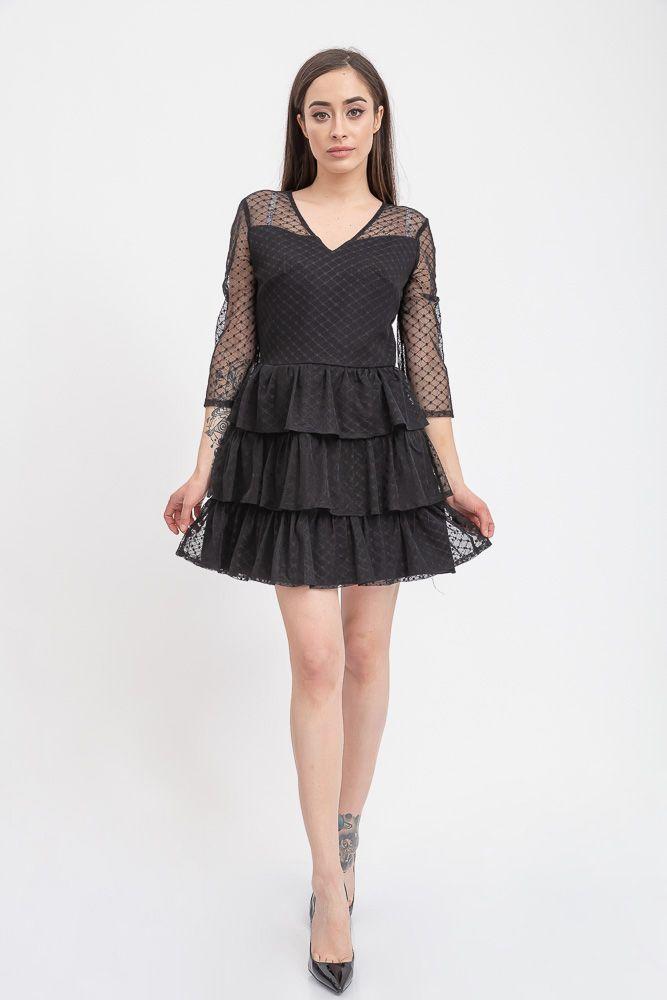 Платье 131R2897-1 цвет Черный