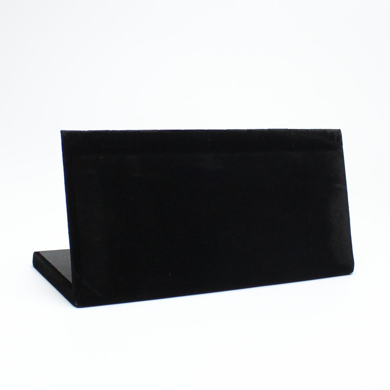 Подставка L для пирсинга черная