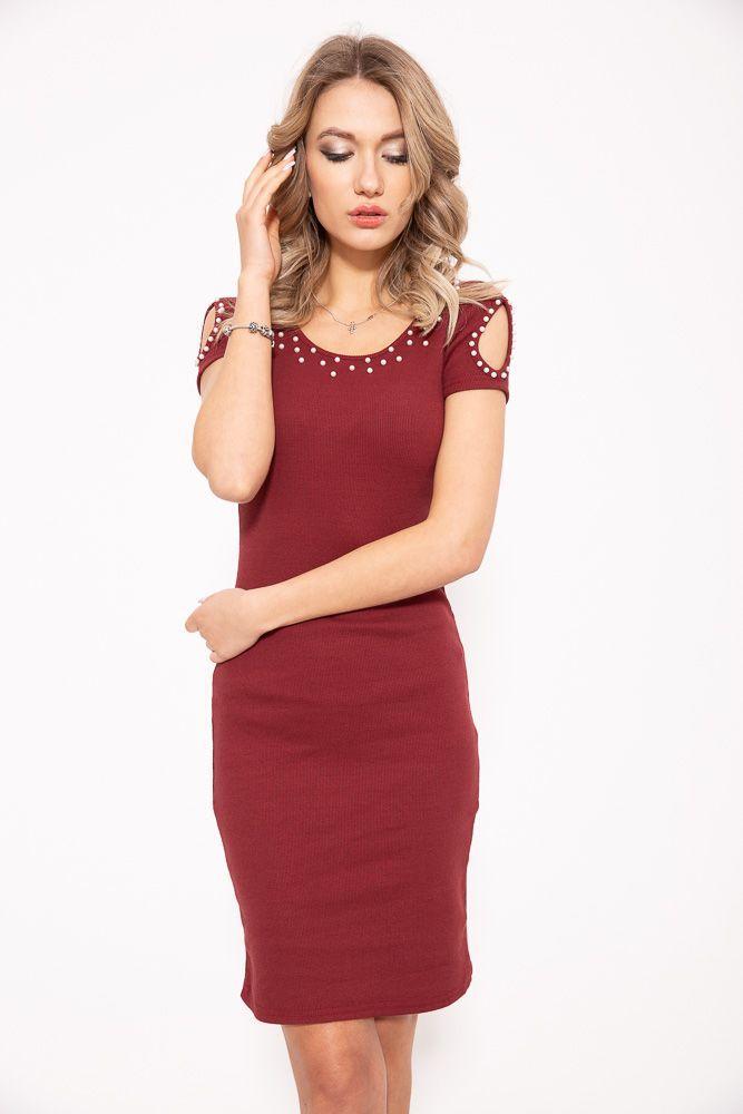 Платье 103R086 цвет Бордовый