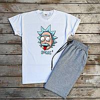 Чоловіча футболка біла принт Енштейн, S,M,L,XL / мужская белая футболка з принтом Энштэйн