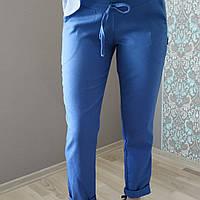Леновые брюки для беременных 2626-2