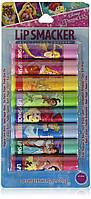 Lip Smacker Набір дитячих помадок бальзамів для губ 8 принцес Disney Princess 8 Count Balm Party Pack
