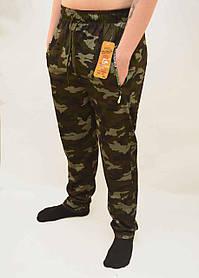 Штаны спортивные мужские камуфляжные с молниями на карманах Брюки трикотажные - камуфляж