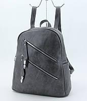 Рюкзак женский M&JJ Серый 32х32х12 (3300)