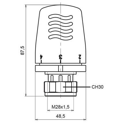 Термоголовка Icma 28х1,5 №1100, фото 2