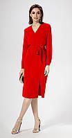 Платье Panda-467780/1 белорусский трикотаж, красный, 42