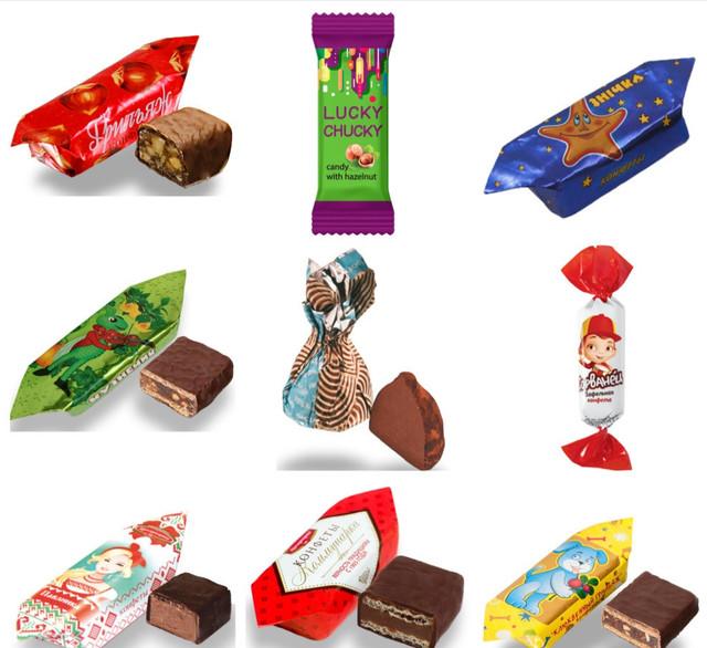 Шоколадные конфеты Коммунарка