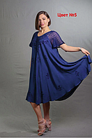 Женские летние платья Индия 48-50-52-54-56-58