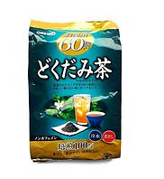 Чай на основе докудами комплексное оздоровление,помощник при интоксикации. Оrihiro 60 пак.на 60 дн.применения