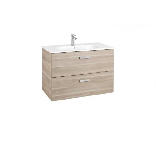 Шкафчик с умывальником Roca VICTORIA BASIC 100 береза A855851422